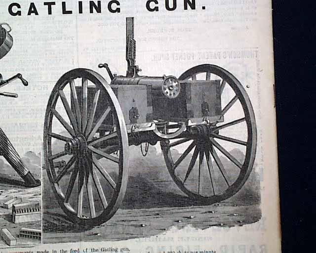 The Gatling gun    - RareNewspapers com