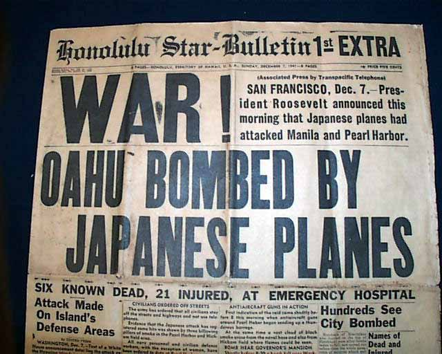 thesis statement for pearl harbor speech Thesis statement on pearl harbor japanese bombing at pearl harborpearl harbor was attacked on the morning of december 7, 1941 and would prove to be japan's greatest mistake, a mistake for which the consequences would extend throughout the war and well into japan's post-war future more immediately, however, it would serve to drop the restraint which the us had maintained as the war had.