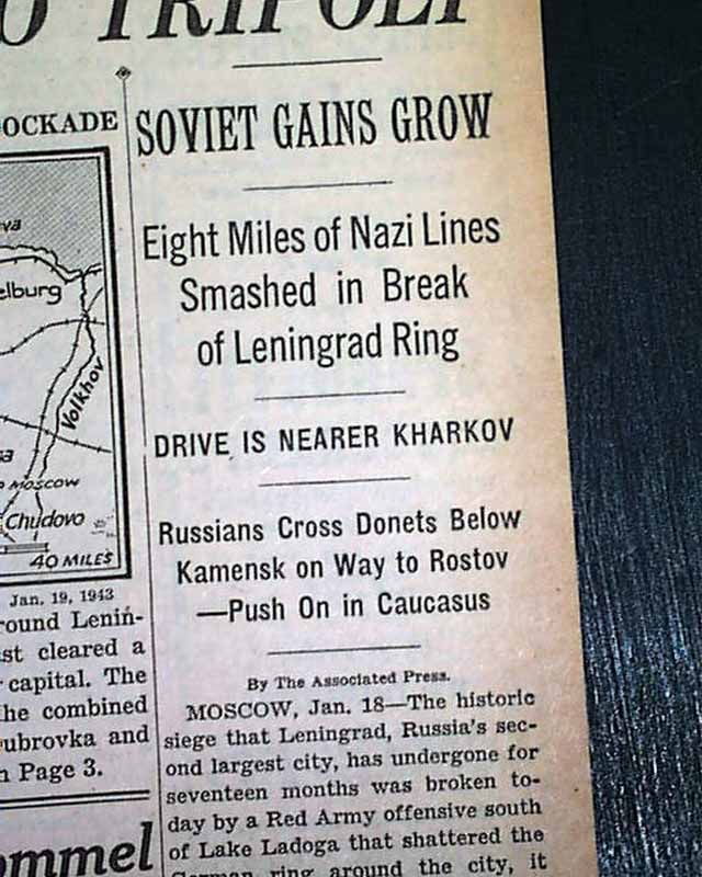 Image result for during ww2     january 18 1943 the soviets broke the nazi siege in leningrad