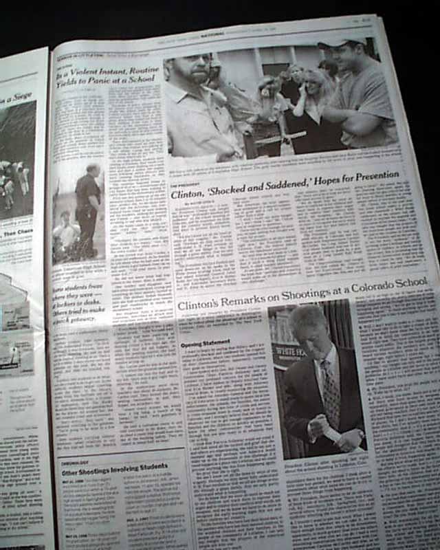 Colorado School Shooting 1999: Columbine High School Massacre...