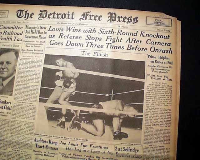 From his hometown newspaper    20 straight victories for