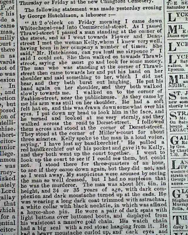 an introduction to the issue of jack the ripper in the history of england The major issue he took is that there was a second work, other than the one i cited, that proves to him that thompson was jack the ripper i have revised the piece to include this extra poem and his comments.