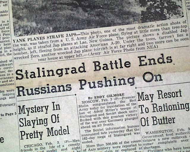 Image result for the battle of stalingrad ends