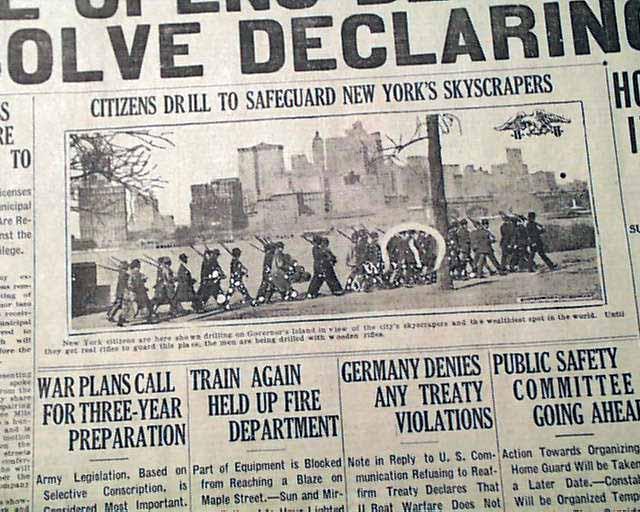The History Place - World War I Timeline - - War Erupts