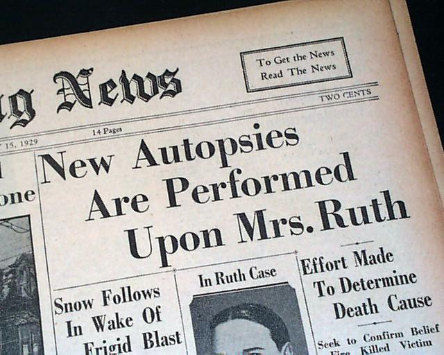 Babe Ruth S Wife Death Rarenewspapers Com