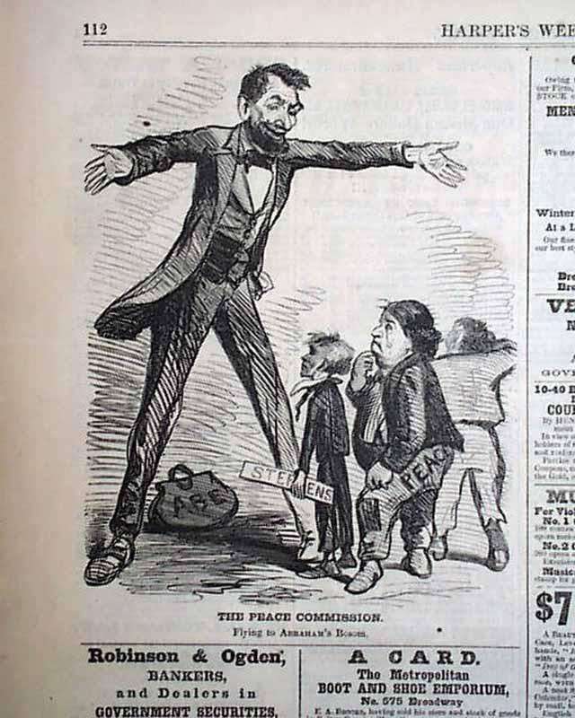 Passage Of The Thirteenth Amendment Rarenewspaperscom