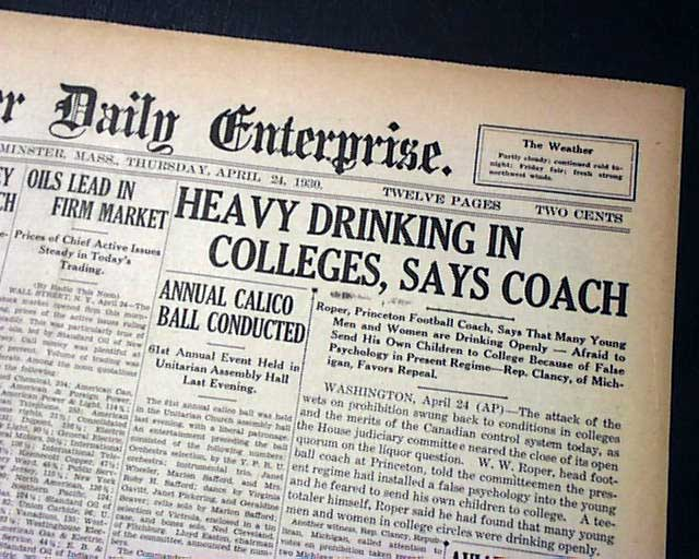 prohibition underage drinking essay Read this essay on why the drinking age should stay at come along with underage drinking of general prohibition meant that american adults would.