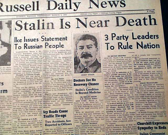 the rule of kruschev the leader of russia after stalins death How did nikita khrushchev come to succeed joseph stalin almost immediately after stalin's death in 1953 was soviet leader nikita khrushchev sympathetic to.