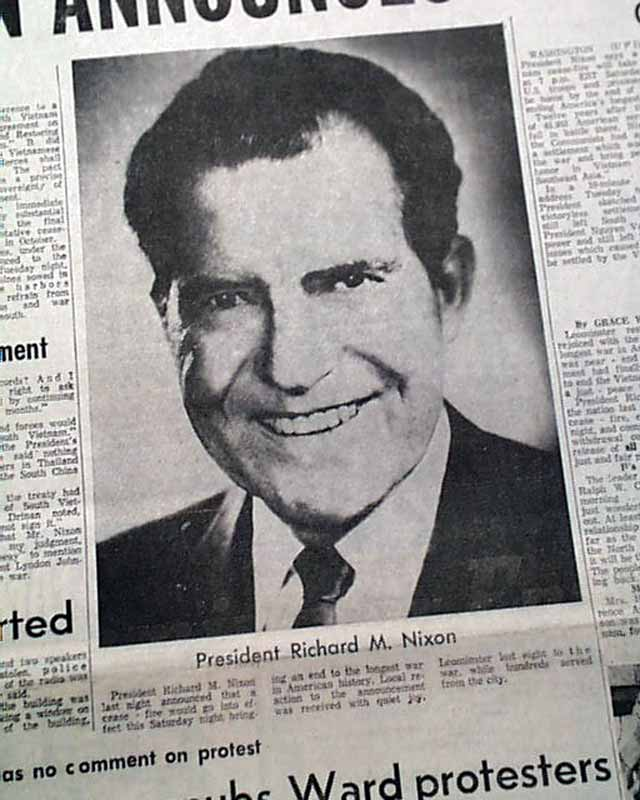 the president richard nixons policy concerning the vietnam war Richard m nixon - the vietnam war the priorities of the nixon presidency lay not in domestic social or economic policies—which were simply the means to the end—but in reelection through creation of a majority coalition.