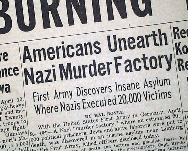 holocaust research report