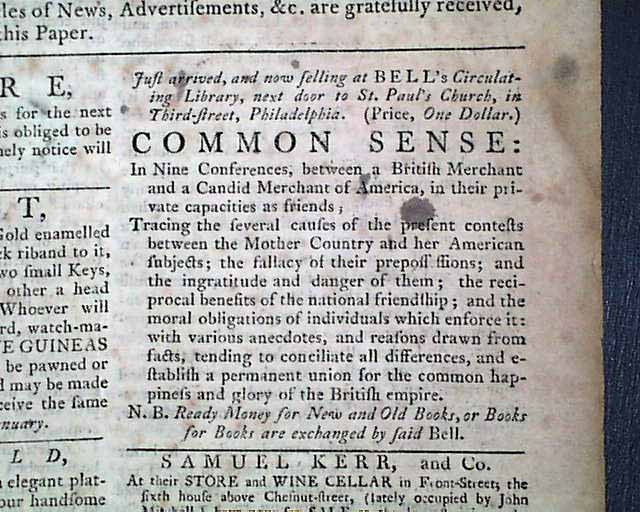 A tory newspaper from the revolutionary war ads for for Revolutionary war newspaper template