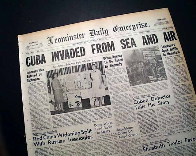 bay of pigs invasion research paper Bay of pigs was the united states jusified in my research i find that united states involvement in the bay of pigs invasion was important and necessary.