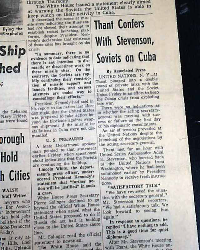 cuban missile crisis essay The cuban missile crisis is one of the most popular assignments among students' documents if you are stuck with writing or missing ideas, scroll down and find inspiration in the best samples.