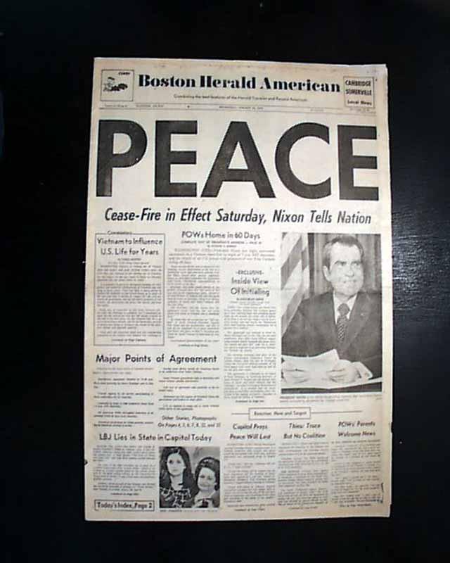 Us Involvement In Vietnam War Ends Rarenewspapers