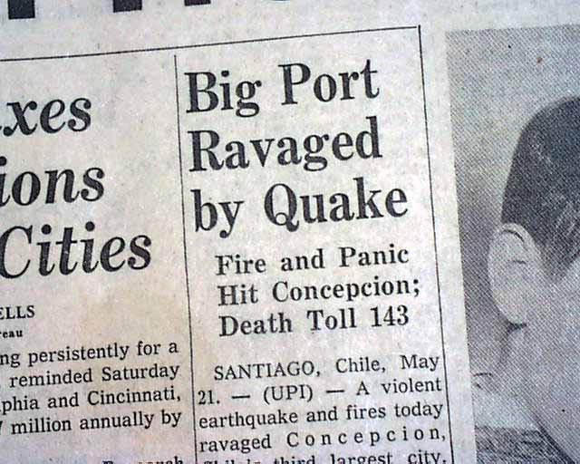 a look at the famous chilean earthquake of 1960 The heart of the country, you can visit the main cities, famous vineyards and some of the best ski resorts in the southern hemisphere southern  (earthquake): a typical chilean drink that consists in a mix of pineapple ice  don't run, and unless the building you are at is literally falling down don't try to escape all buildings in chile made after.