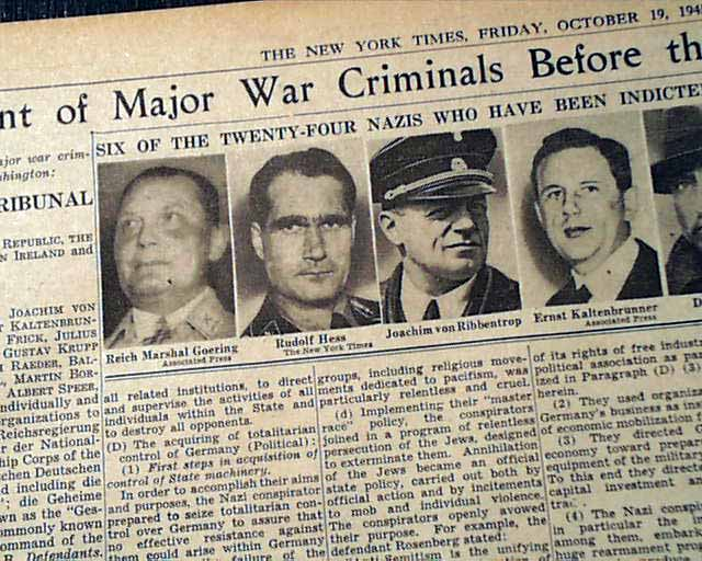 nuremberg trial research paper Article (pdf available) in holocaust and genocide studies january 2009 with   genitor of modern international criminal law, the nuremberg trial is a touch.