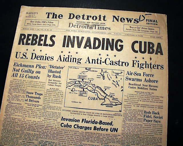 the effects of the failure in the bay of pigs invasion They landed at the bay of pigs and made an attempt to overthrow castro the invasion was a disaster , and president kennedy was humiliated a map showing the range of missiles fired from cuba.