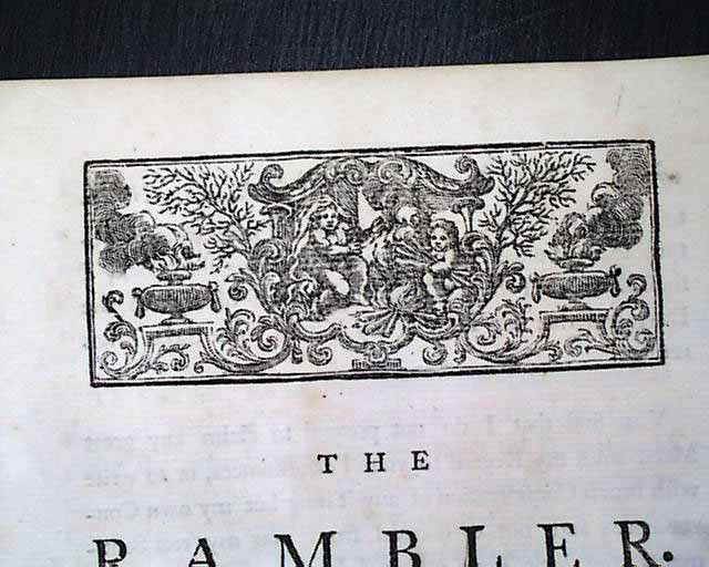 samuel johnson wrote periodical essays in only one newspaper