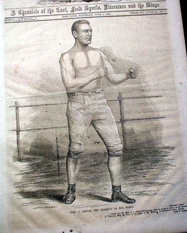 Professional Boxer Tom Sayers
