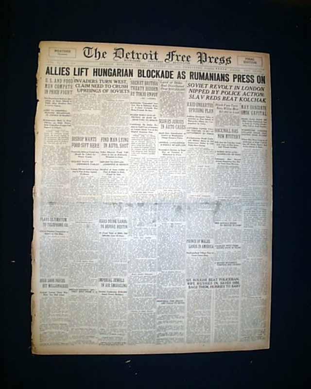Andrew Carnegie death     - RareNewspapers com
