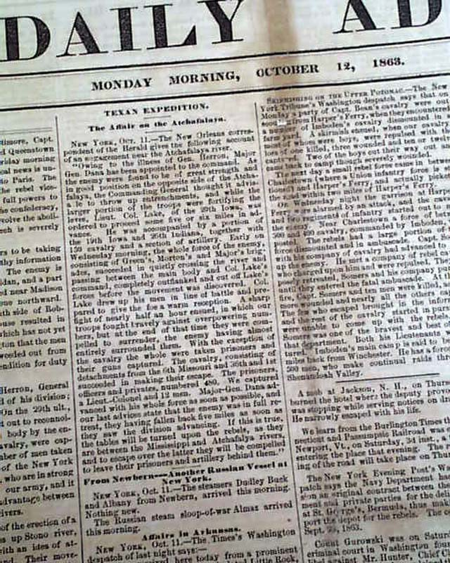 Battle with the Sioux Indians    - RareNewspapers com