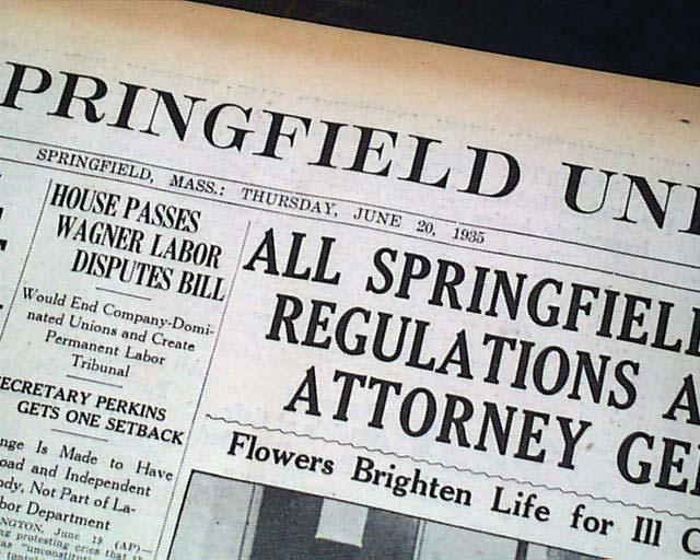 Social Security Act passes Senate in 1935 ...