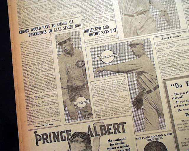 1919 world series essay The black sox scandal: chicago throws the 1919 world series essaysyou've probably heard of the chicago black sox scandal, but don't know what it's about in the 1919.