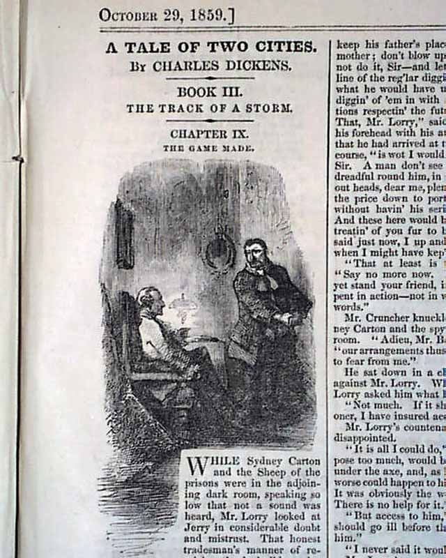 an analysis of the opening line of a tale of two cities by charles dickens A model of the integration of history and literature charles dickens's a tale of two cities as the famous opening lines of a tale of two cities.
