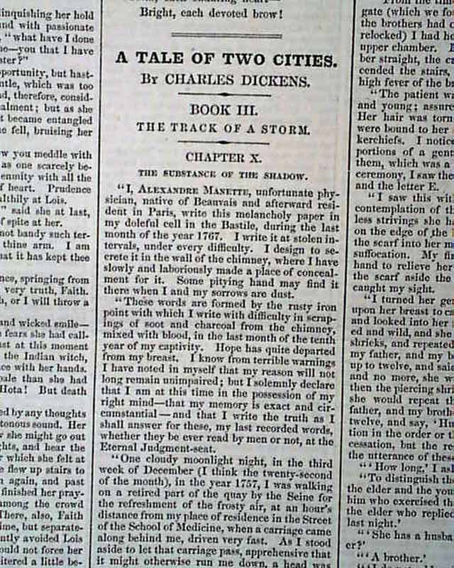 an examination of charles dickens a tale of two cities Tale of two cities (oxford world's classics) (9780199536238): charles  dickens,  best story i have written, provides a highly-charged examination of  human.
