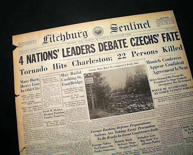 Munich Agreement Rarenewspapers