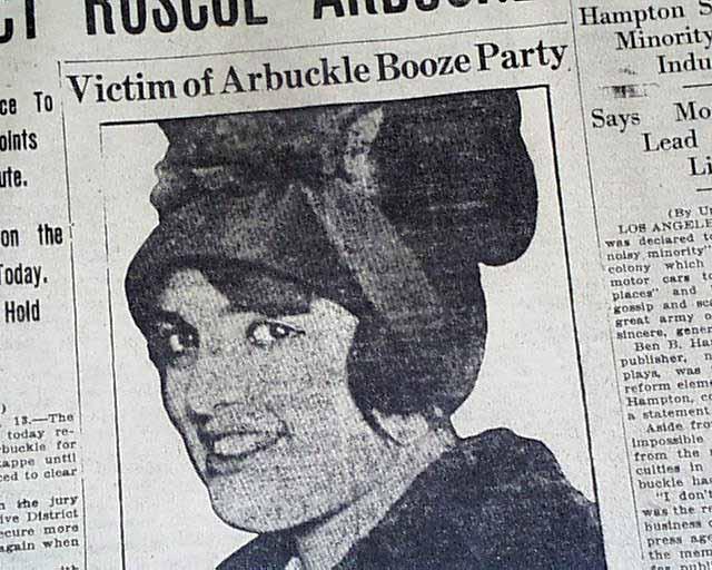 Fatty Arbuckle indictment... - RareNewspapers.com