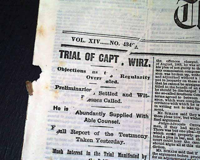 The Wirz Trial