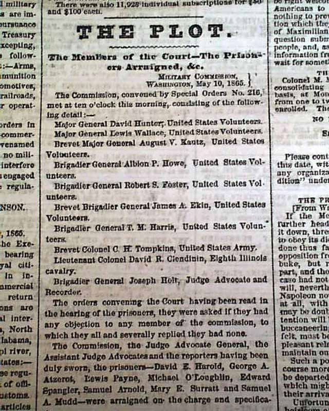 the controversial accusation prosecution and punishment of mary surratt The judicial murder of mary e surratt  accused advocate alleged andrew  johnson prisoners proceedings prosecution punishment question rebel rebellion.